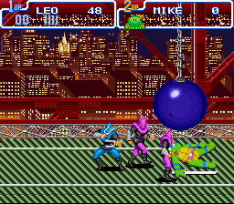 Teenage Mutant Ninja Turtles IV - Turtles in Time -  - User Screenshot