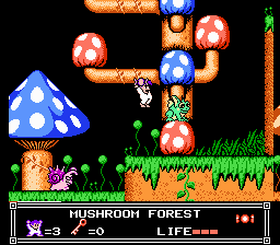Little Nemo - The Dream Master - Feeding candy to whatever that is - User Screenshot