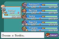 Touhoumon Another World - Over powered team much? - User Screenshot