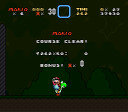 Super Mario World - Level  - Peace out - User Screenshot