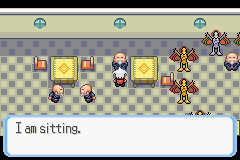 Pokemon Snakewood - Location Sage Tower - He is sitting - User Screenshot