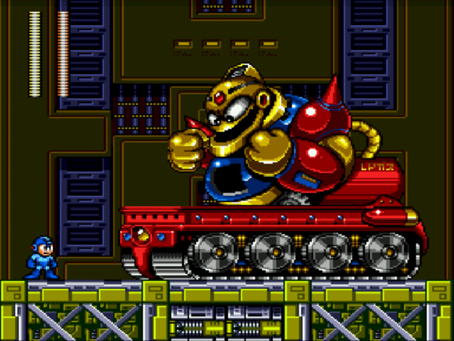 Mega Man - The Wily Wars - Misc boss - whoa the guts-dozer - User Screenshot