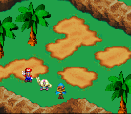 Super Mario RPG - Legend of the Seven Stars - Battle  -  - User Screenshot