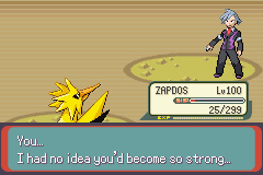 Pokemon Rebirth - Battle  - lol   - User Screenshot
