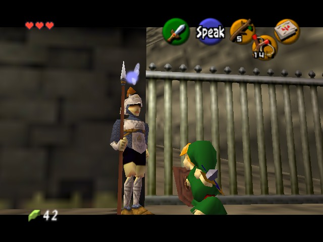The Legend of Zelda - Ocarina of Time - Level  - Who are you calling little? - User Screenshot