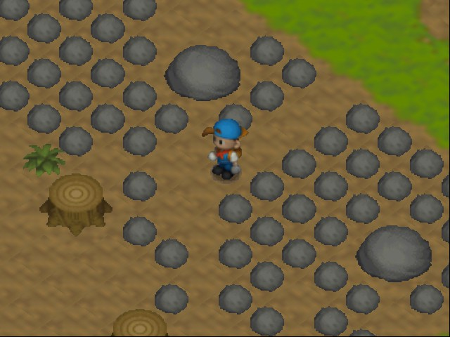 Harvest Moon 64 - Gotta love new fields - User Screenshot