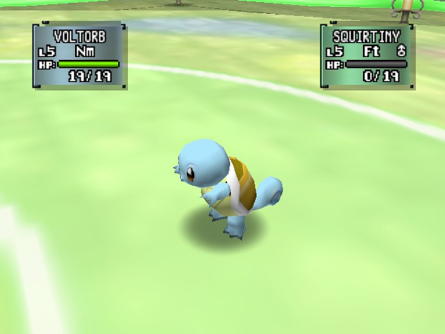 Pokemon Stadium 2 - Squirtle - User Screenshot