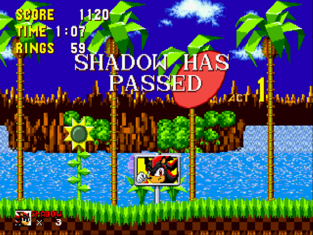 Shadow the Hedgehog - Passed - User Screenshot