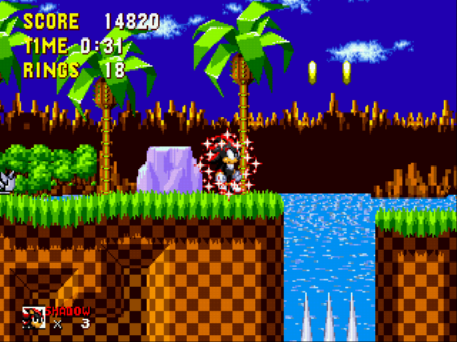Shadow the Hedgehog - Sparkly Shadow - User Screenshot