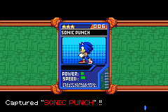 Sonic Battle - SONIC PUNCH - User Screenshot