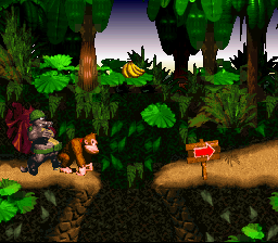 Donkey Kong Country - Level  - SNES - Donkey Kong Country - User Screenshot