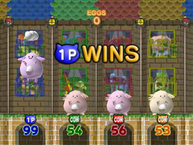 Pokemon Stadium 2 - 99 eggs not one dropped I love it ^_^ - User Screenshot