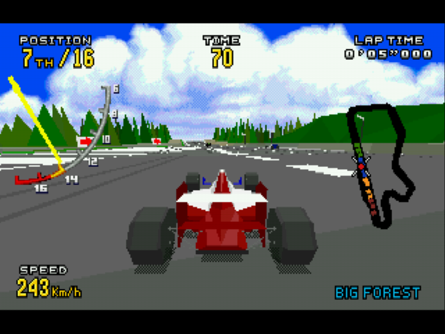Virtua Racing Deluxe - normal view - User Screenshot