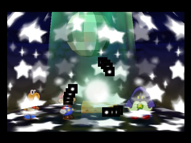 Paper Mario - Location  - mario: can i dance? - User Screenshot