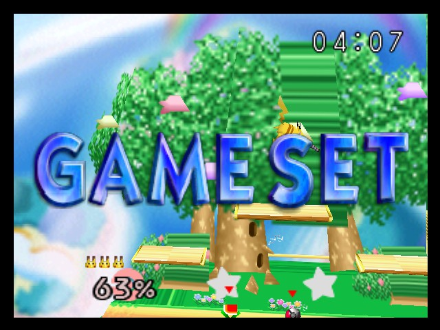 Super Smash Bros. - Battle  - i won - User Screenshot