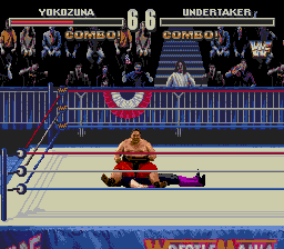 WWF Wrestlemania Arcade - Is he dead? - User Screenshot