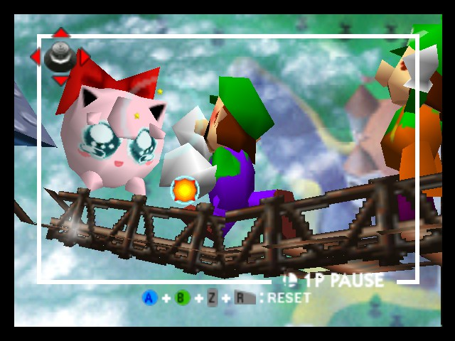 Super Smash Bros. - Battle  - jigglypuff is crying - User Screenshot