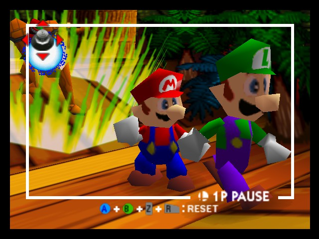 Super Smash Bros. - Battle  - mario: bro you joined the game too! luigi: :/ - User Screenshot