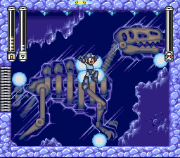 Mega Man VII - getting powered up - User Screenshot