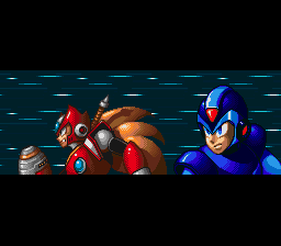 Mega Man X3 - Introduction  - x and zero - User Screenshot