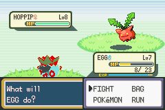 Pokemon Shiny Gold - Misc  - Glitch egg in action - User Screenshot