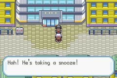 Pokemon Fire Red - Quick! Let