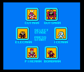 Elec Man -Character Select :Who will i choose? - User Screenshot