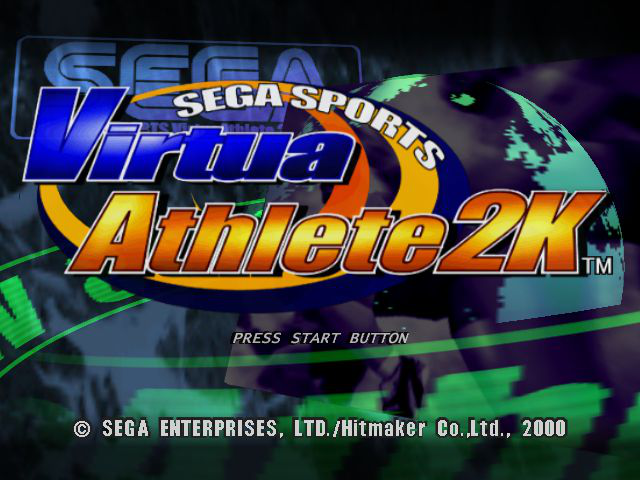 Virtua Athlete 2000 - Intro