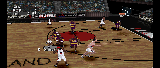 NBA Live '97 - Lakers vs. Blazers 2
