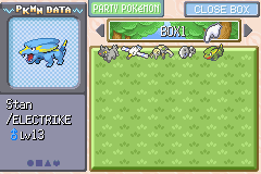 Pokemon Emerald - Character Profile Pokemon - I caught a shiny :3. - User Screenshot