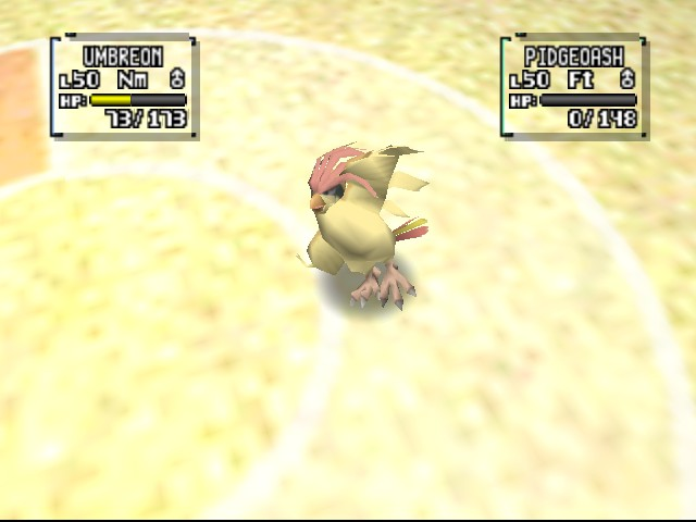 Pokemon Stadium 2 - weird position XD - User Screenshot