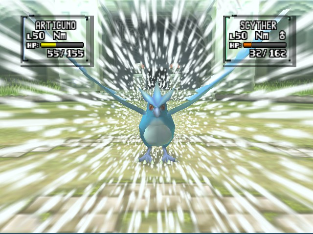Pokemon Stadium 2 - articuno blizzard time *-* - User Screenshot