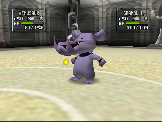 Pokemon Stadium 2 - WTH is with granbull