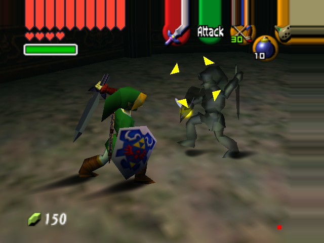 "The Legend of Zelda - Ocarina of Time (Debug Edition) - ""Not if I slash you first!"" - User Screenshot"
