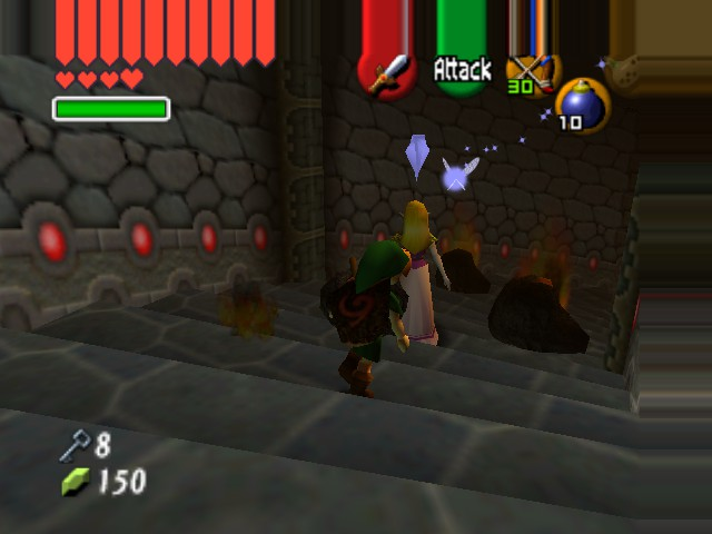 "The Legend of Zelda - Ocarina of Time (Debug Edition) - ""Aren"