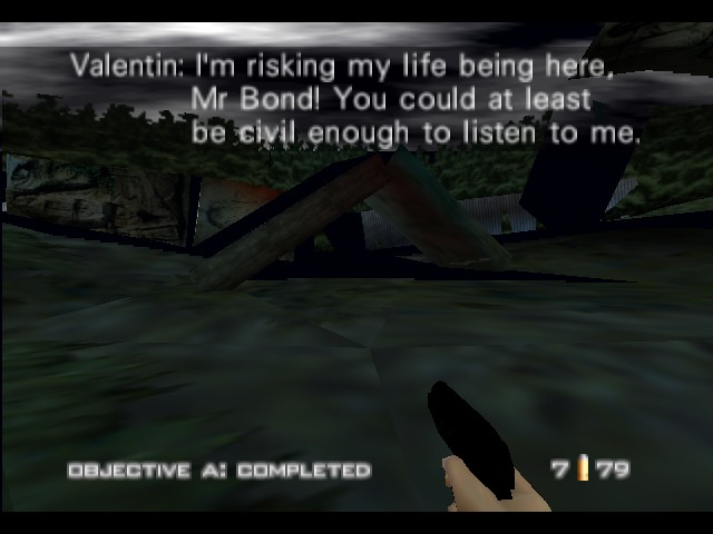 GoldenEye 007 - Misc Odd - This is ironic, usually you would have lost.. - User Screenshot