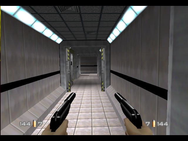 GoldenEye 007 - Introduction  - Two PP7