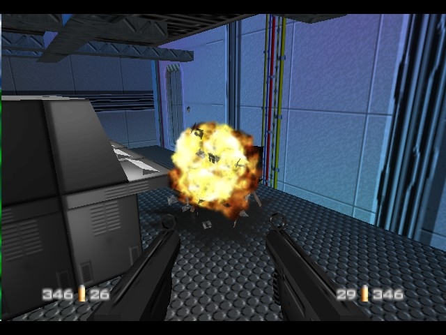 GoldenEye 007 - Misc Funny Picts - Exploding chairs... really? - User Screenshot