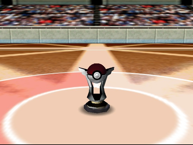 Pokemon Stadium - Ending  - Won the Pokecup! - User Screenshot