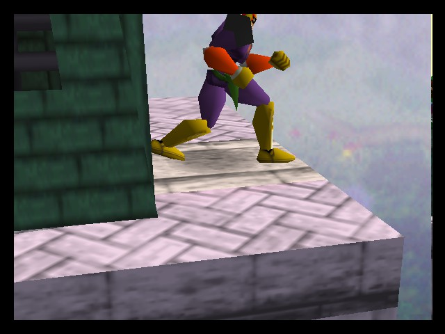 Super Smash Bros. - Ending  - Should I jump? - User Screenshot