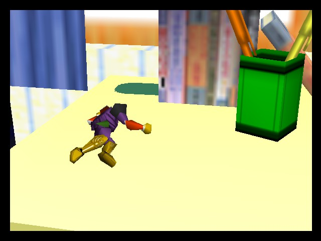 Super Smash Bros. - Ending  - OUCH! he dropped me! - User Screenshot