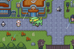 Pokemon Light Platinum - it followin me - User Screenshot