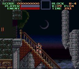 Super Castlevania IV - Dracula, it