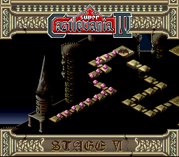 Super Castlevania IV - About half-way through the game... - User Screenshot