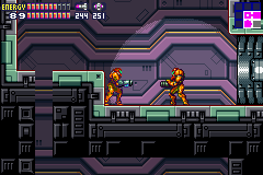 Play Metroid Fusion Debug Online GBA Rom Hack Of