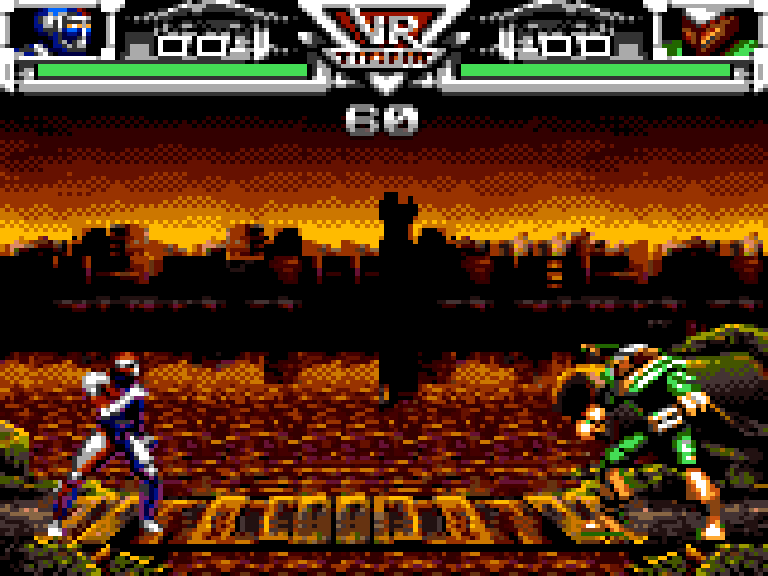VR Troopers - Level  - player 1 ryan steel vs tankotron - User Screenshot