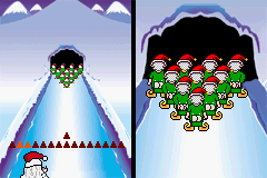 Elf Bowling 1 & 2 - mooning Santa=no presents!!! - User Screenshot