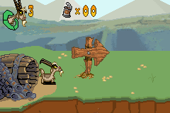 Home on the Range - Level  -  billygoat in scarecrow hill level - User Screenshot