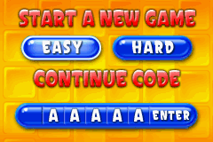 Super Collapse! II - Game Select  -  game select menu - User Screenshot