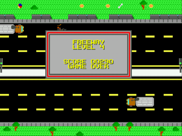 game ending for freeway